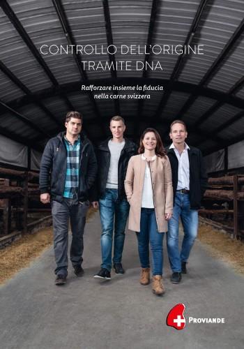 Brochure controllo dell'origine tramite DNA