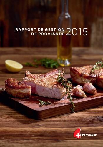 Rapport de gestion 2015